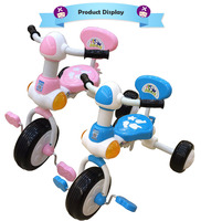 "Guangdong 7"" Stroll Kids' Tricycle With Push Rod"