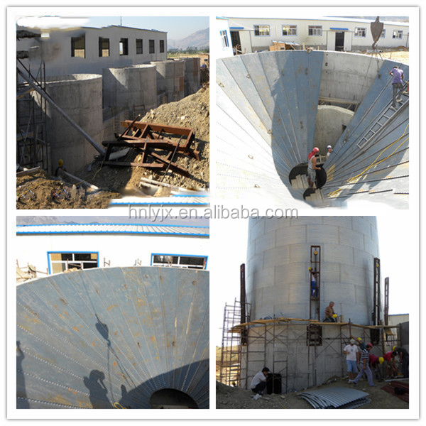 steel silos for grain storage