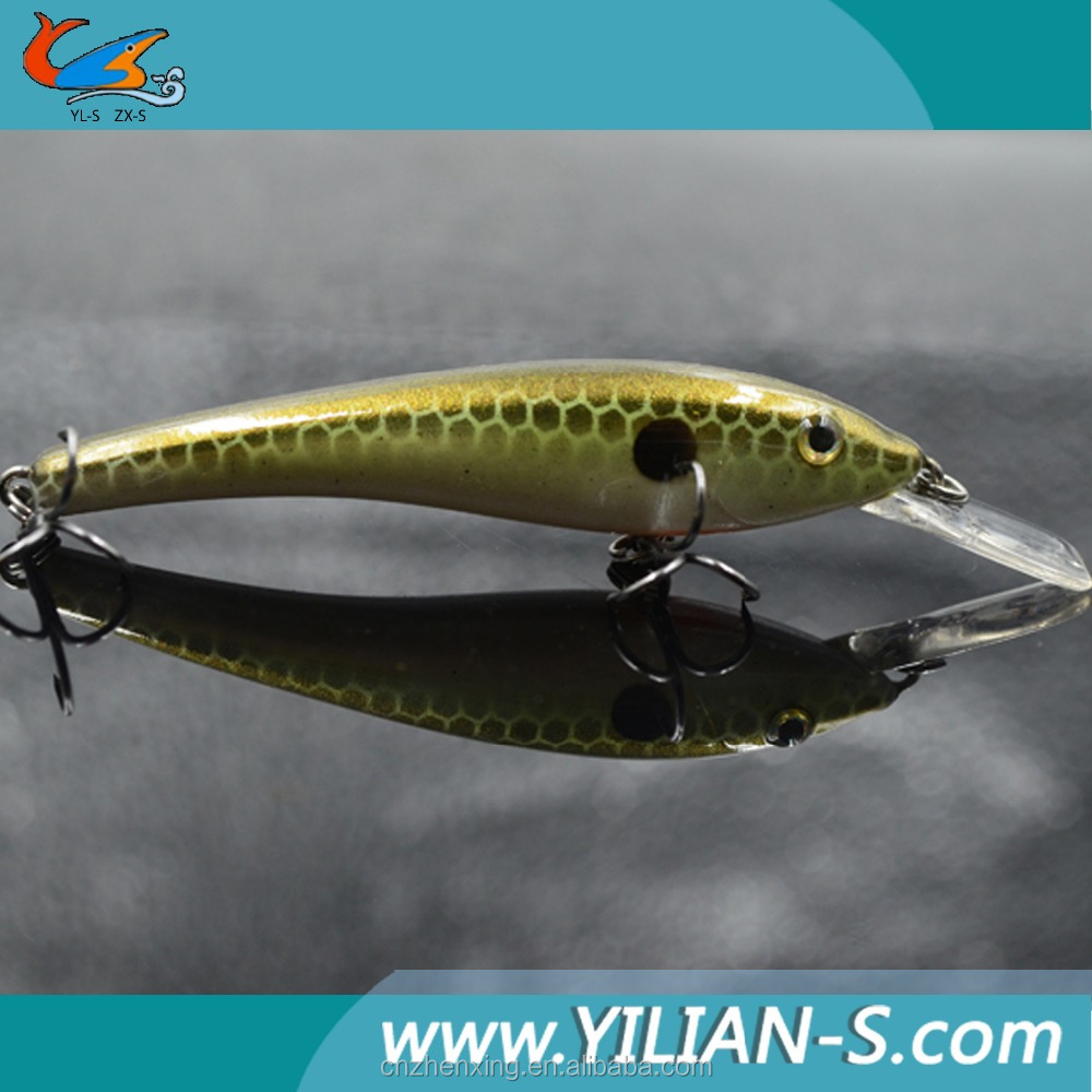 Arrival 2016 3D eyes 3.6 inch 5.5g minnow lures , live bait bibi , wholesale fishing lure parts