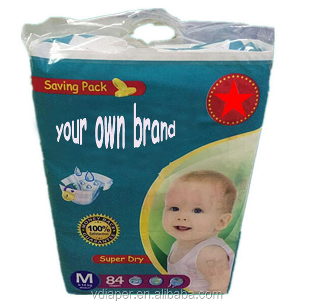 cheap Soft Cotton sleepy Baby Diaper made in china (supply OEM)