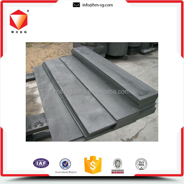 Direct factory wide range custom graphite plates