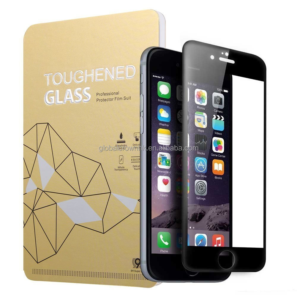 3D curved full Premium Tempered Glass Screen Protector for iPhone 6 6s 7 7s plus