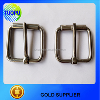 Tuopu metal roller buckles for bags, ss bag roller buckle,roller belt buckle made in china
