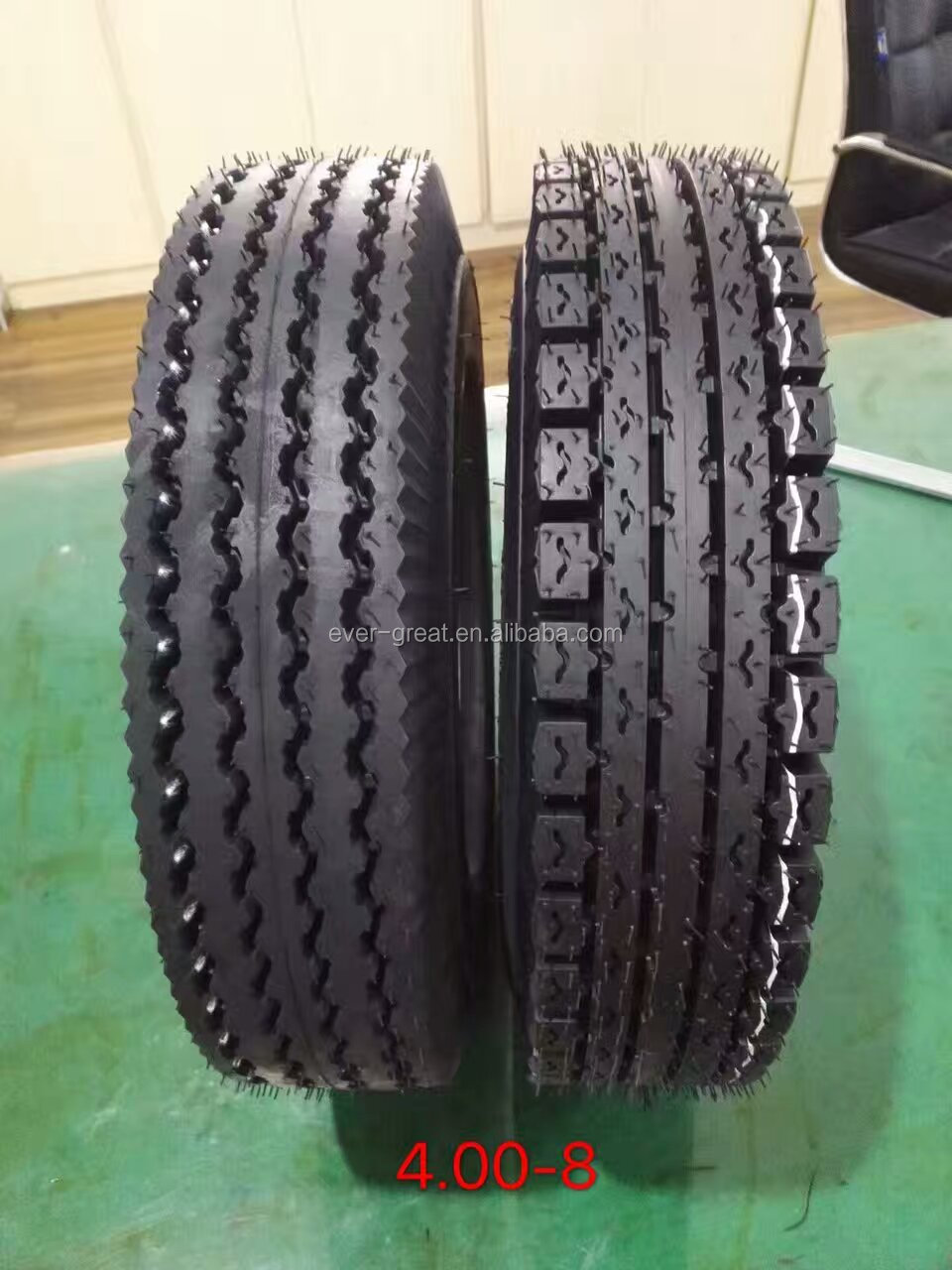 GOOD QUALITY MOTORCYCLE TIRE 400-8 8PR