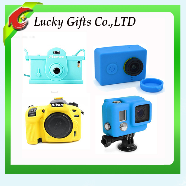 Amazon Manufacturer Eco-friendly Custom Camera Silicone Case