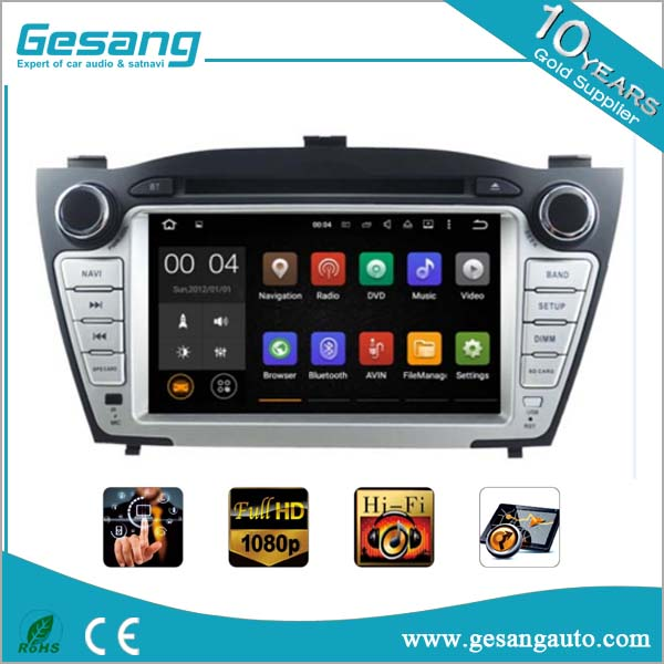 7 inch Touch screen Android 5.1 Car DVD player with GPS system for HYUNDAI TUCSON (2009-2013)