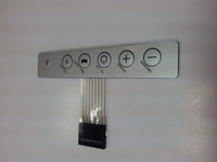 OEM membrane keypad for home application with LED and DOME
