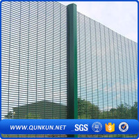 New technology fancy fences high dense 358 high security fence