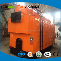 automatic feeding wood chips biomass pellet fired boiler for sale