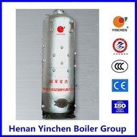 Industrial solar steam boiler with refractory material for boilers