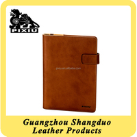 Top Design Wholesale Custom Personalized A5 PU Leather Notebook Cover
