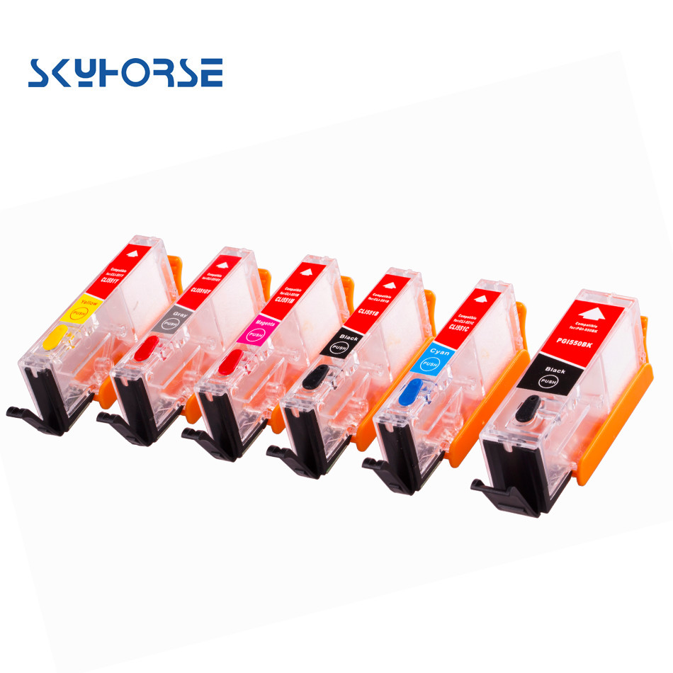 refill ink cartridge compatible for canon with auto reset chip