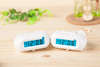 Classic LCD table Clock With Snooze From Dongguan Manufacturer