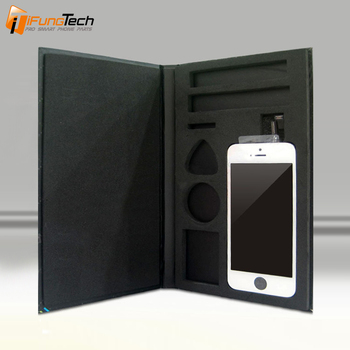 Safe LCD Packaging Box For iPhone 7G/7 Plus/6plus/6/5s/5c/5g/4s/4g Packing Box with Tools Hole