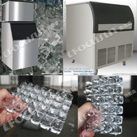 New advanced excellent performance latest technology cube ice machine/industrial ice cube making machine