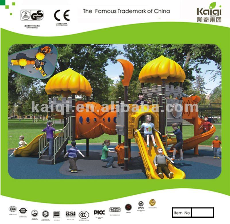 Updated KAIQI Castles series outdoor playground/children park toys/plastic jungle gym