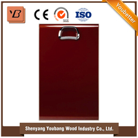 red gloss lacquer paint wooden cabinet doors / color paint cabinet