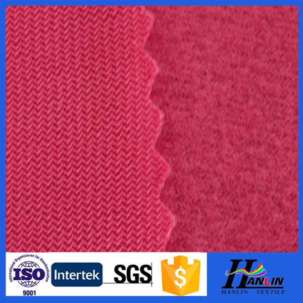2015 china alibaba 100%polyester tricot brushed knitted fabric