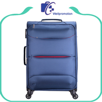 Nylon/polyester personalized trolley luggage sets