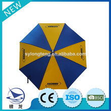 8K Ribs convenient tacking promotion golf parasol,outdoor furniture