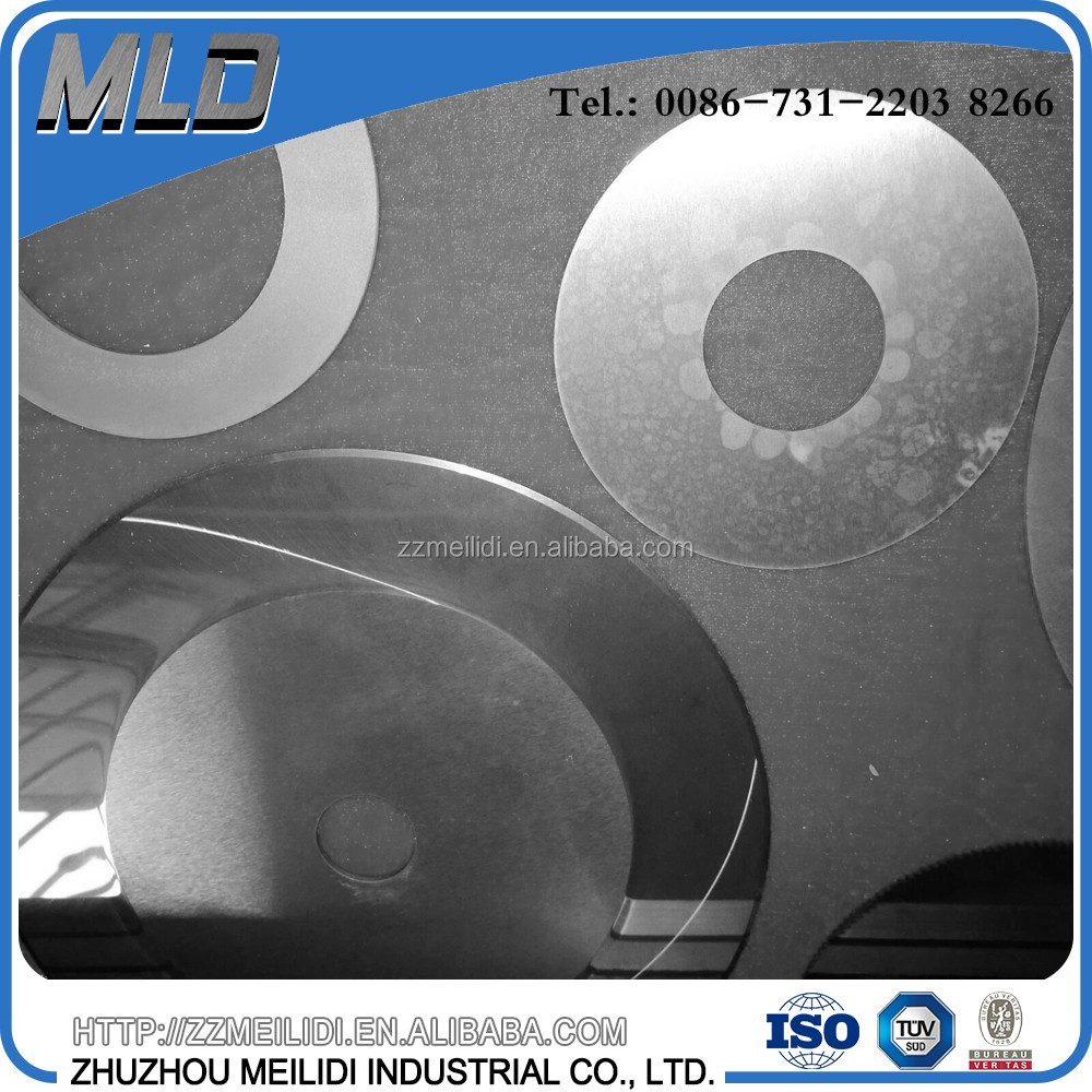 Unground tungsten carbide circular cutting knives and blades supply in various dimensions