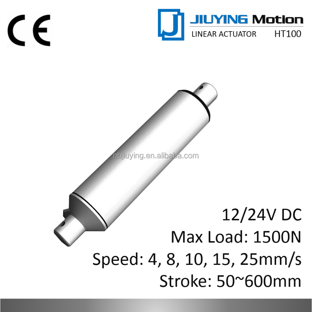 electric dc motor mini tubular linear actuator with remote control