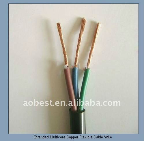 Professional low voltage cable and wire pvc insulation