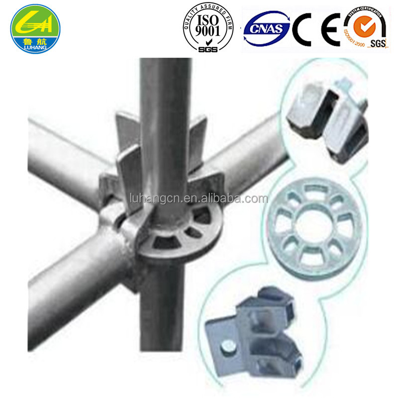 fastener style scaffold/Distributors best Supplier round 24 INCH galvanized iron scaffolding pipe material