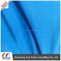 Wholesale plain dyed soft stretch 95 rayon 5 spandex single jersey knitting fabric