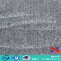 Most popular OEM quality stocklot cotton denim fabric for wholesale