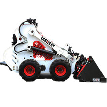 electric 12v mini skid steer loader with Briggs & Stratton epa engine