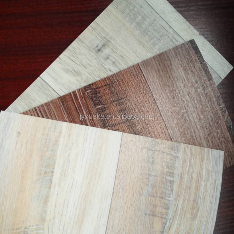 Prefect Decoration Effect Vinyl Sheet Real Wood