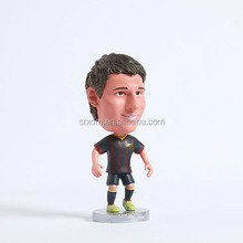 Make custom popular soccer action figure maker,plastic 4 inch soccer action figure for custom