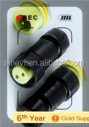 Yuyao Sineyi PA welding EC02681-0024-BF2PIN 250V 15A waterproof connectors