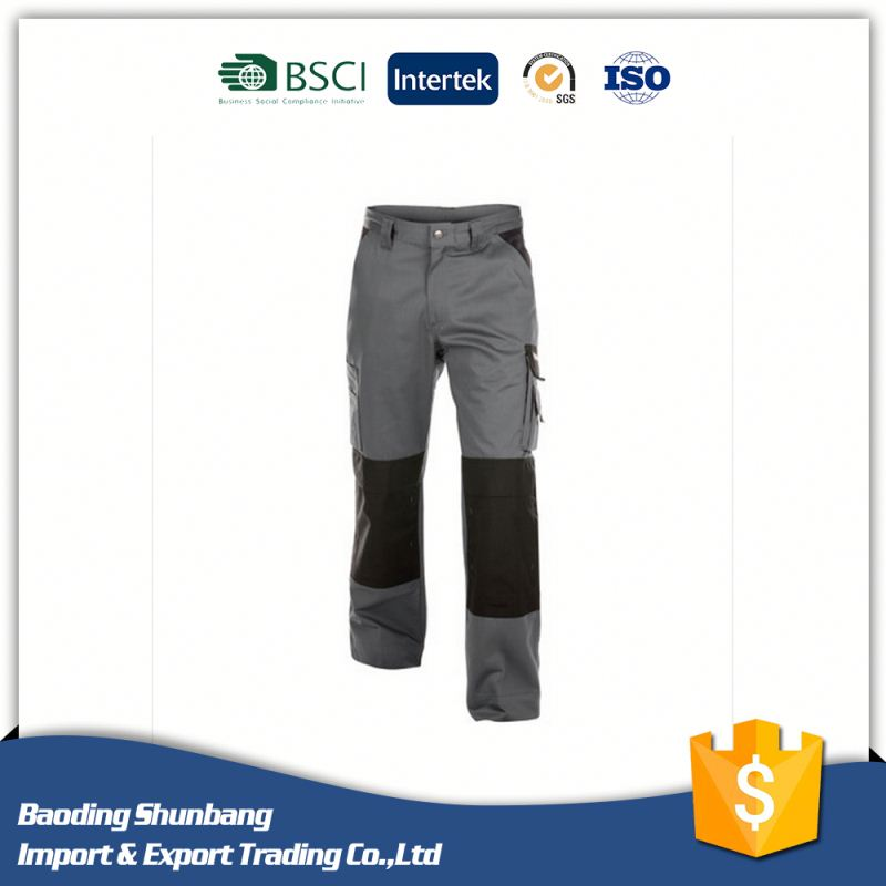 Wholesale high quality work pants with knee pad