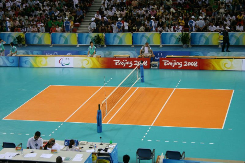 pvc sports flooring for Volleyball floor mat