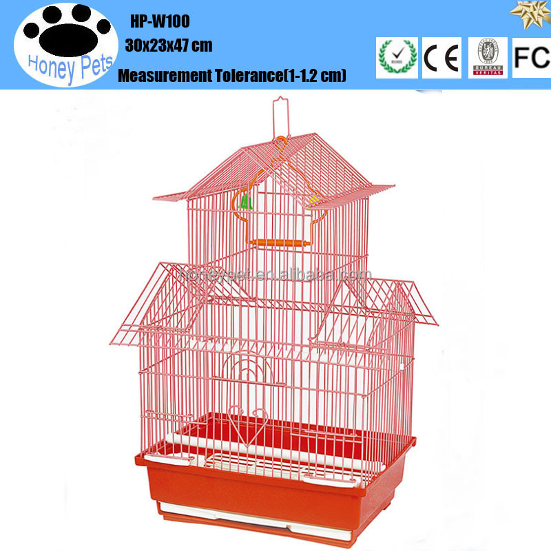 HP-W100 Cheap foldable aluminium pet bird cage