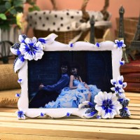 2015 New Designed Glass Cube Photo Picture Frame HQ070175-35