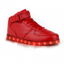 new fashion led shoes for adult & kids, led lighting shoes manufacture jinjiang, high quality LED shoes Yezzy style NMD LED shoe