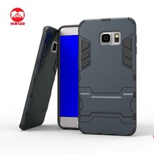 Hybrid Rubber Shock Protective Hard Kickstand Iron Man Case for Samsung Galaxy S7 Edge Plus Note 5