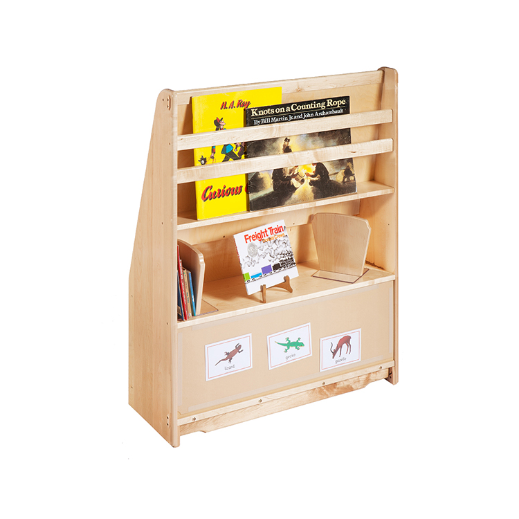 New Product Kids Furniture Set Wooden Kids Bookshelf With Promotional Price