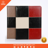 Colorful functional Leather Stand Case Cover For ipad 2/3/4
