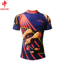 High quality wholesale custom sublimated rugby jersey
