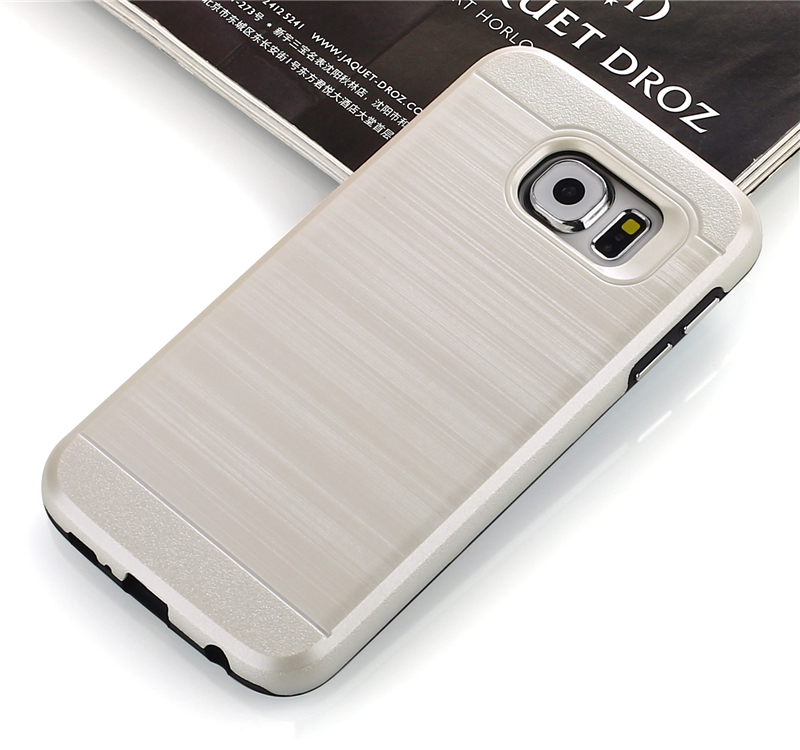High quality Hair line aluminum Durable Hybrid Anti Gravity phone Case for ZTE zmax pro cover