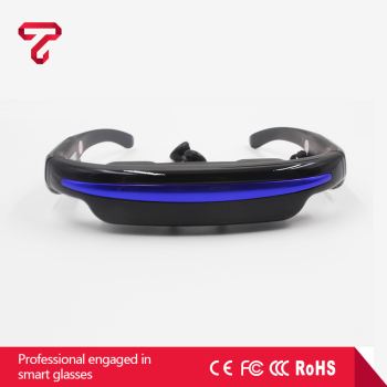 VR Headset Foldable 3D VR Glasses connect to fpv camera