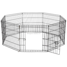 8 side folding wire pet enclosure puppy fence dog playpen