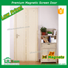 Beige Color Magnetic Screen Door For Home Door