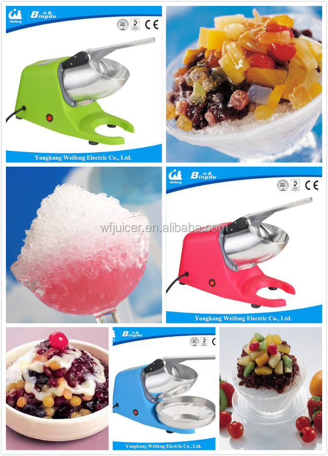 double blades manual ice shaver