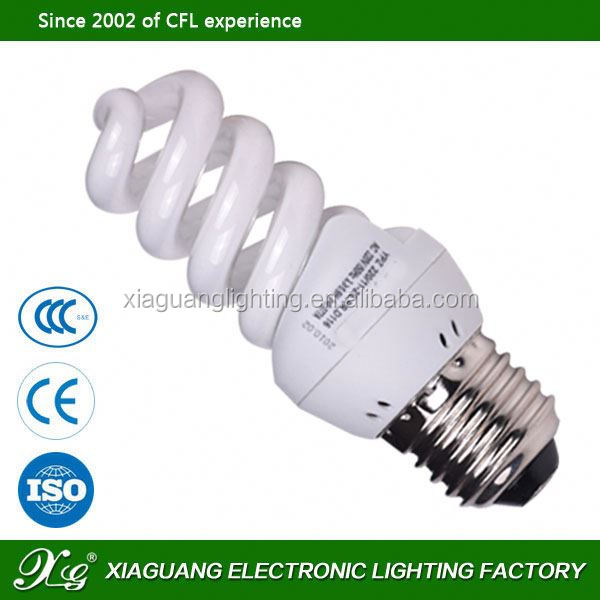 cfl compact fluorescent lamp lamp parts assembling full spiral