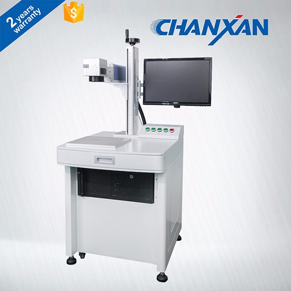 CHANXAN 30W 50W Raycus/IPG large format fiber laser marking optical laser marker for metal and plastic